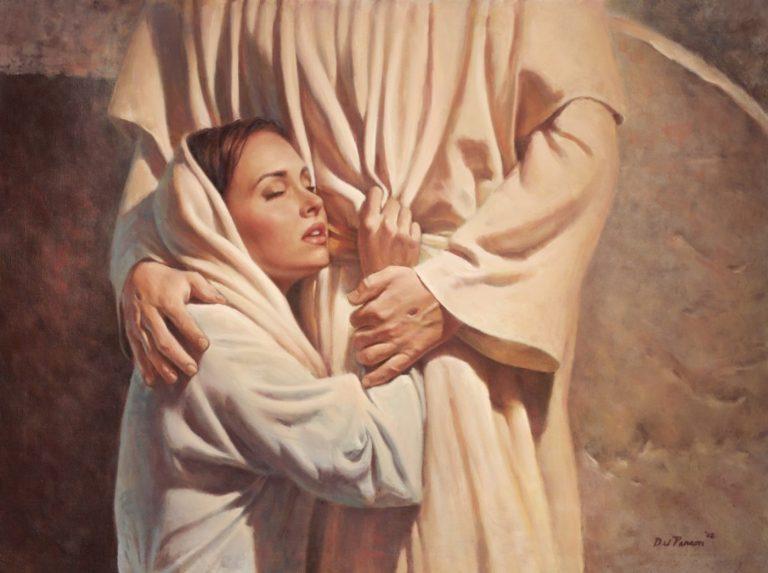 Однажды к Богу пришла женщин…