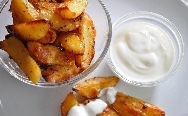 Картофель в соевом соусе — так вкусно, что готова есть каждый день