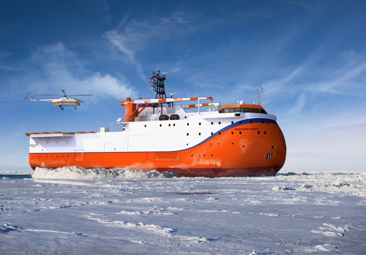 Начата постройка ледостойкой самодвижущейся платформы «Северный полюс»