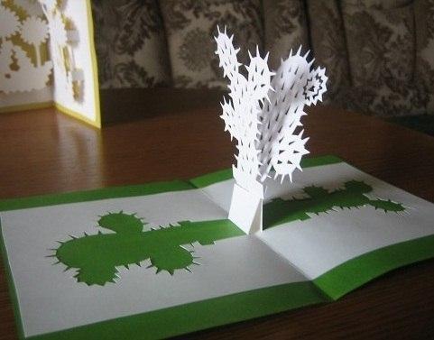 Оригинальные открытки из бумаги своими руками. Шаблоны