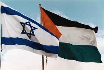 Видео, как израильские военные сбили палестинские ракеты