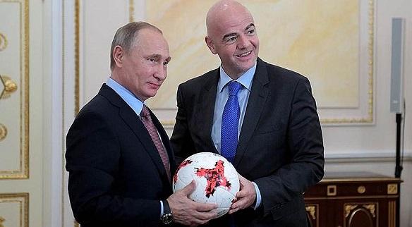 Президент ФИФА остался доволен подготовкой России кЧМ 2018