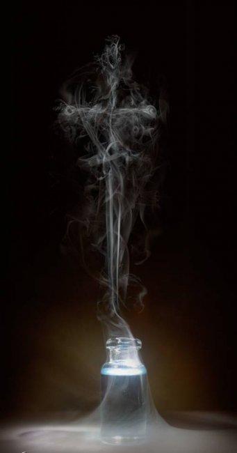 Искусство из дыма
