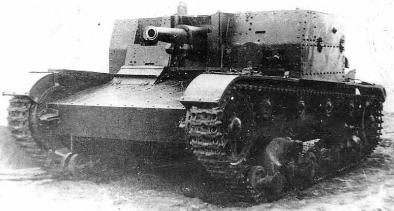 Легкий танк бт-7а с 76-мм пушкой ф-32