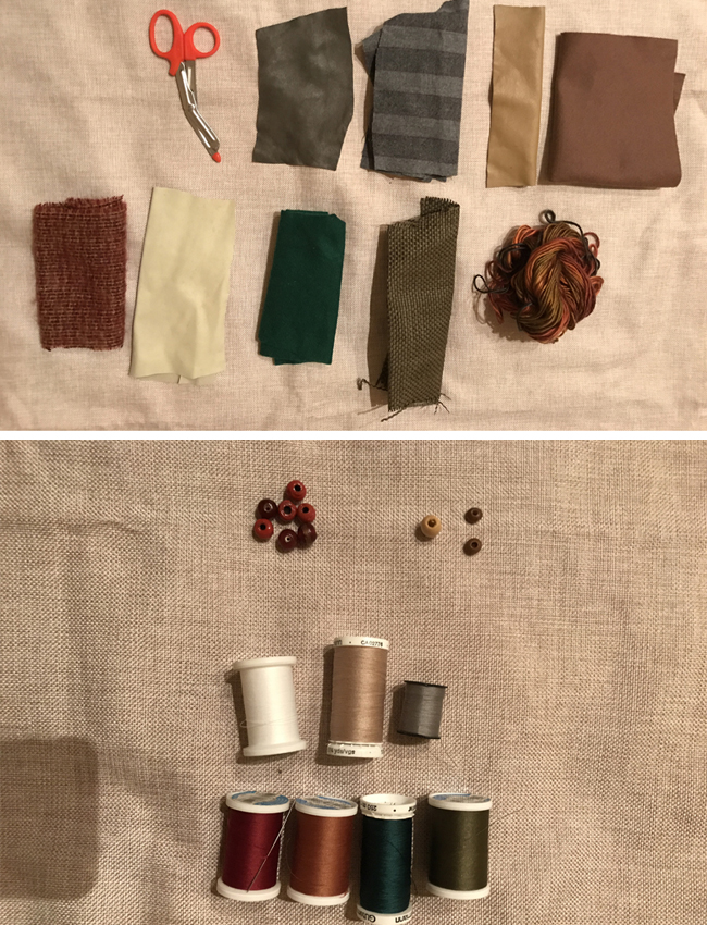 Как сделать «осеннюю» аппликацию на подушку