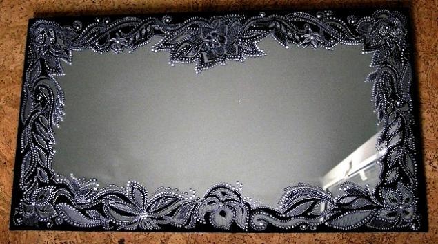 Роспись зеркал мастер-класс