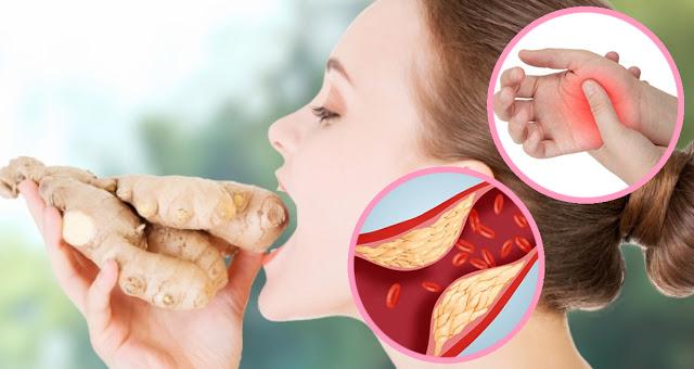 Ешьте имбирь каждый день в течение 1 месяца, и это произойдет с вашим телом