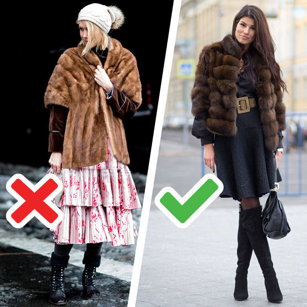 Как носить модную шубу, чтобы выглядеть стильно, а не колхозно