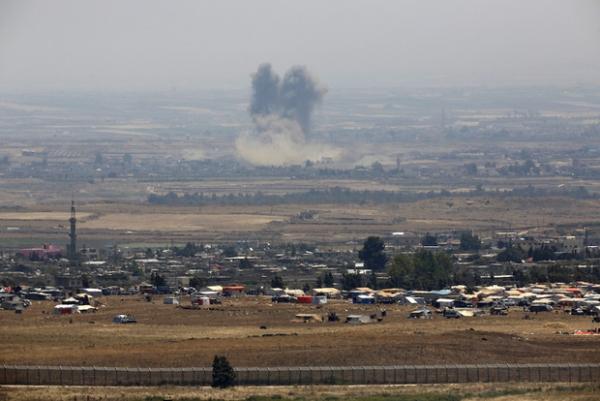 Боевики уступили сирийской армии территорию впровинции Кунейтра