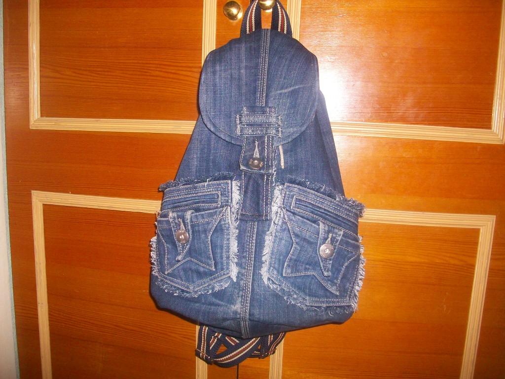 Выкройка на джинсовый рюкзак фото 842