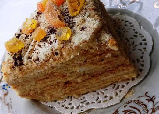 """Торт Медовик классический рецепт """"Проверенный"""""""