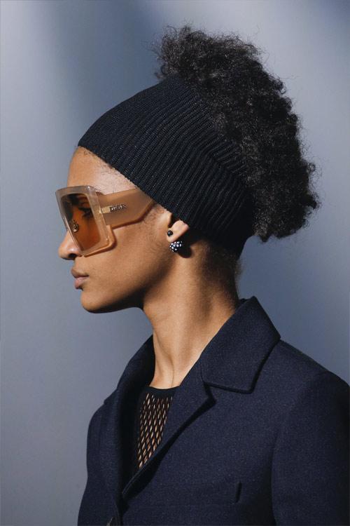 Солнечные очки в прямоугольной оправе от Christian Dior для весны и лета 2019