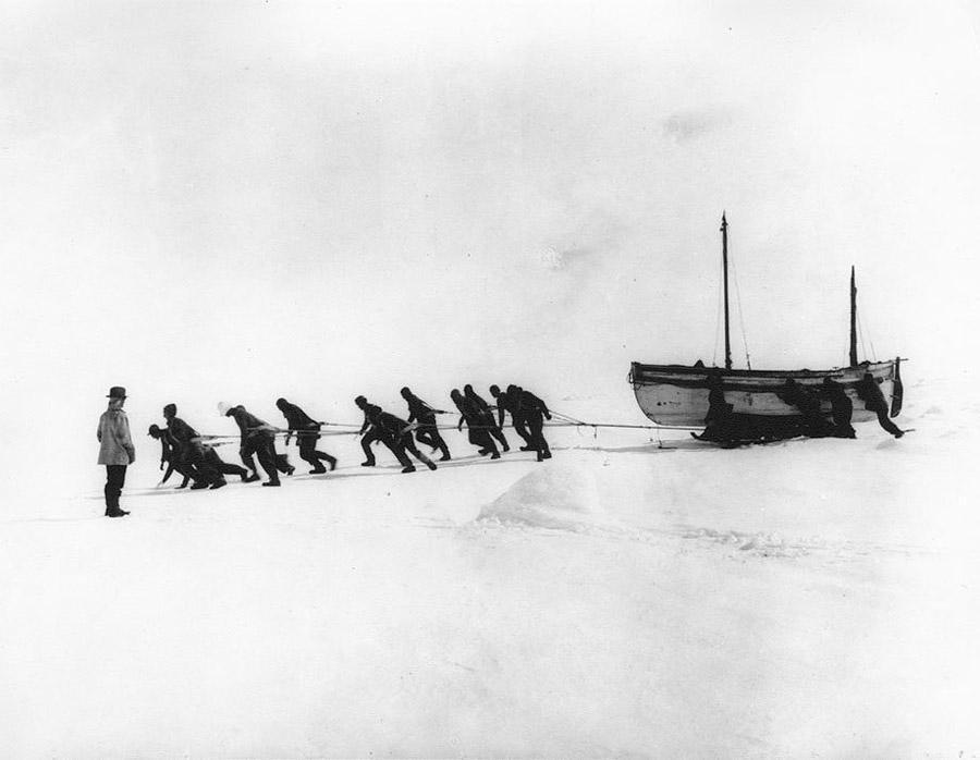 Фрэнк Хёрли: самые впечатляющие фотографии Антарктиды начала XX века
