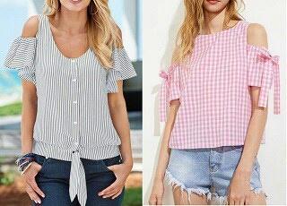 Выкройки летних блузки (подборка)