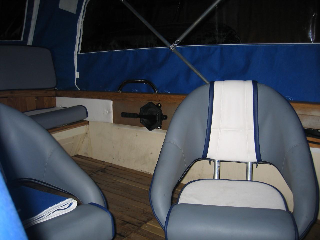 Сиденья для лодок и катеров своими руками 91