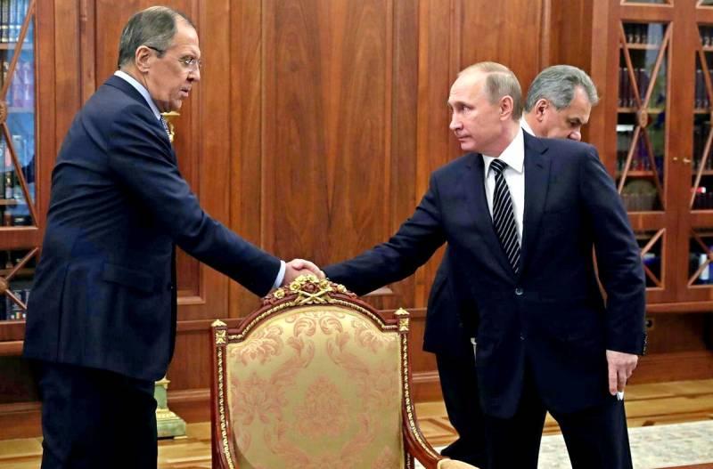 Путин и Лавров сделали свое …