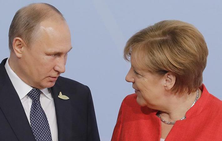 «Меркель сдает Путину Герман…