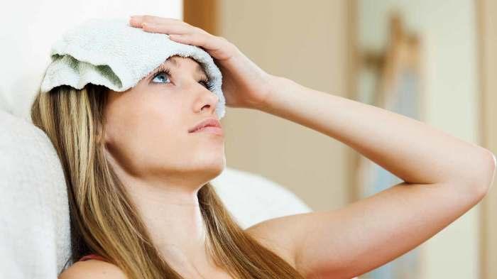 Компресс охладит и поможет задремать. /Фото: healthy-topic.com
