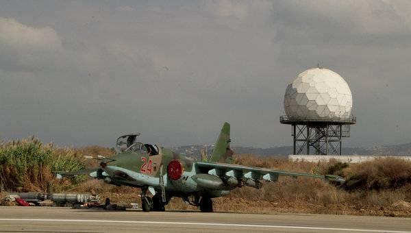 Россия сократила авиагруппировку на базе Хмеймим в Сирии