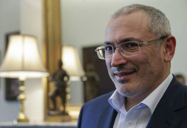 «Ёшкин Крот» Ходорковского подкапывается под Россию