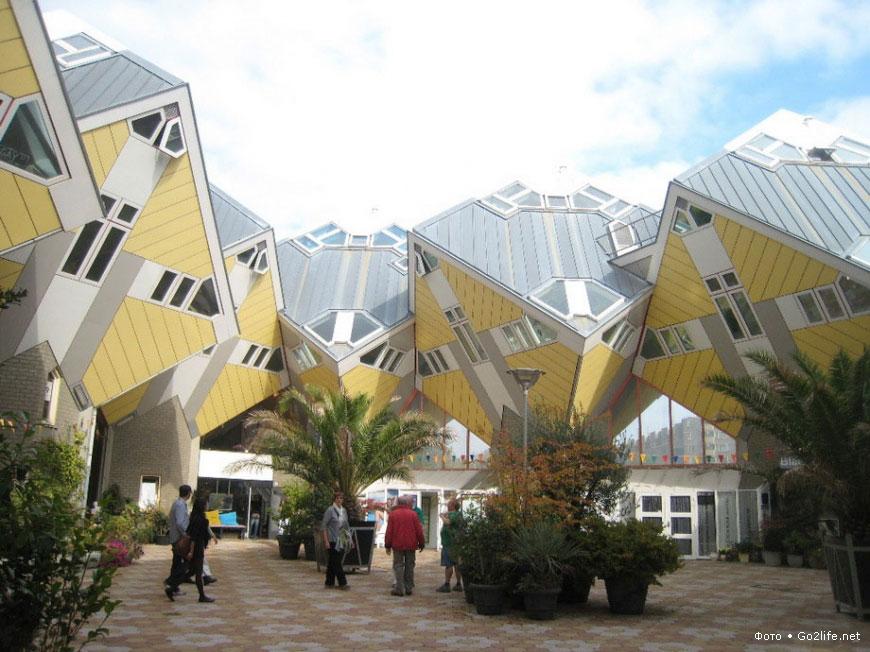 Самые необычные здания в мире. Стоит увидеть!