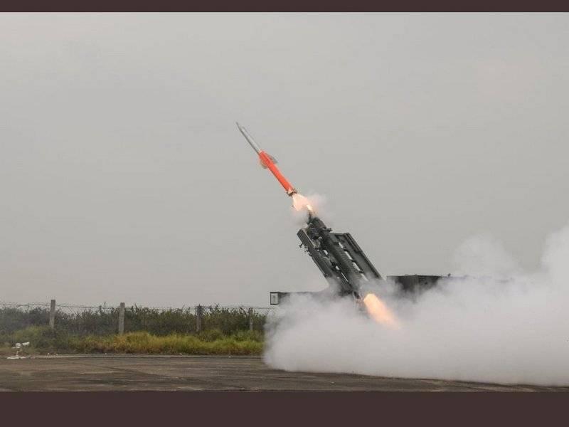 Индия провела очередные испытания зенитного комплекса QRSAM