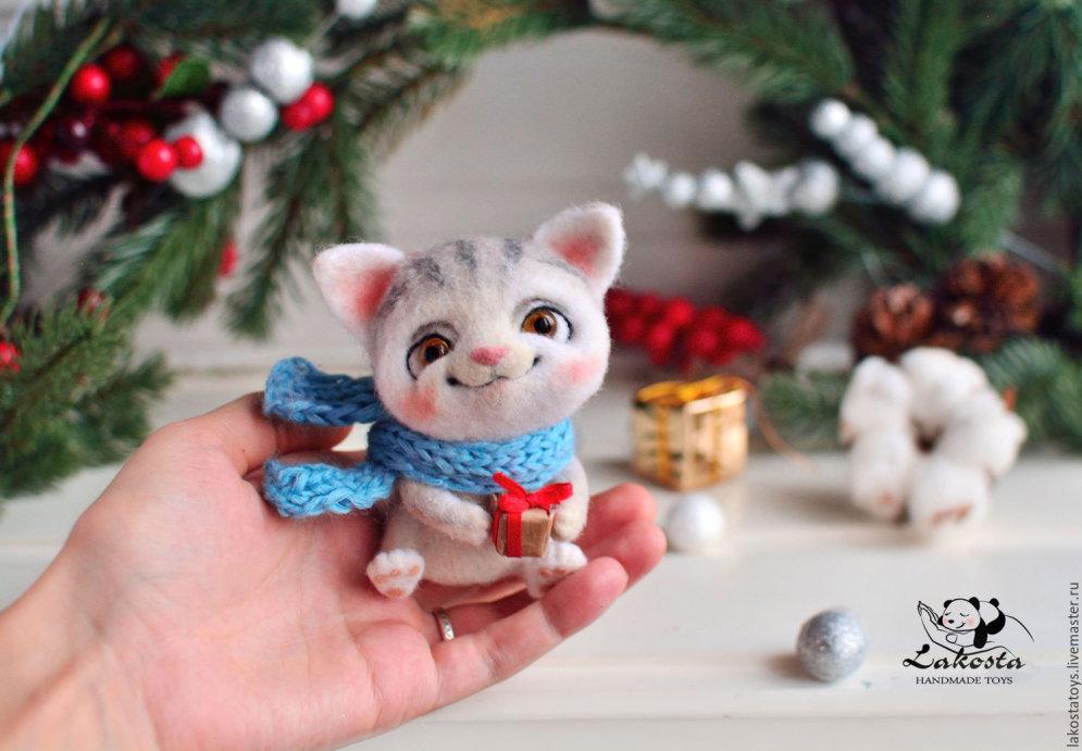 18 супер-милых шерстяных игрушек авторства российской художницы