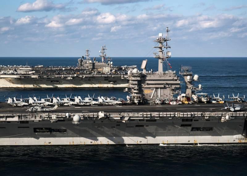 Авианосцы США: благодать сошедшая или всё-таки бочка бездонная?