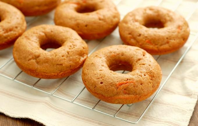 Пончики с творогом