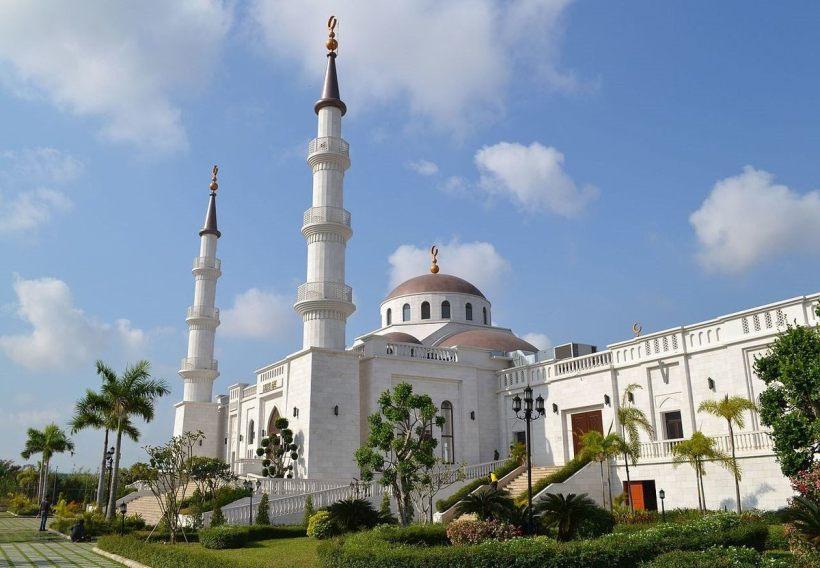 Самая большая мечеть в Камбодже
