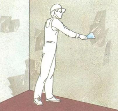 Как правильно подготовить поверхность стен или потолка под окраску или оклейку обоями