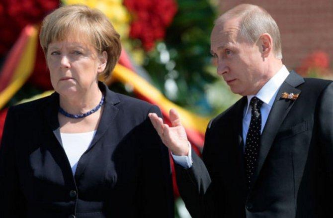 Визит канцлера: Меркель сдалась. Запад снимает блокаду…