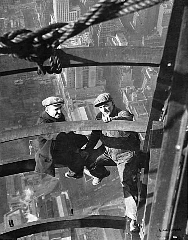 0145 Как строились небоскребы в Нью Йорке