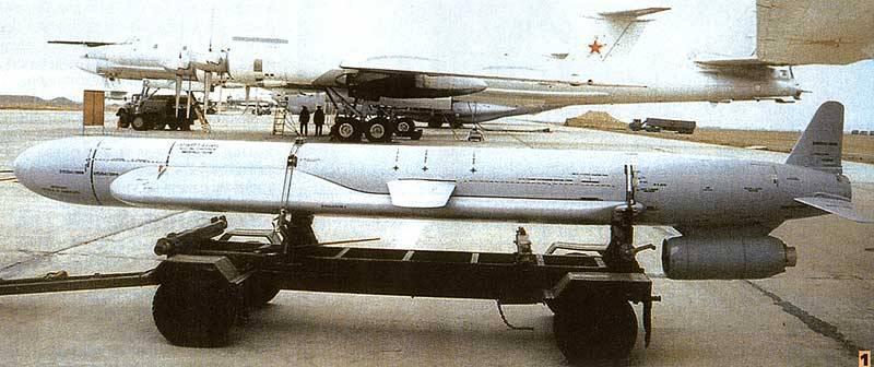 Х-55 заменены новыми ракетами и используются в качестве мишеней