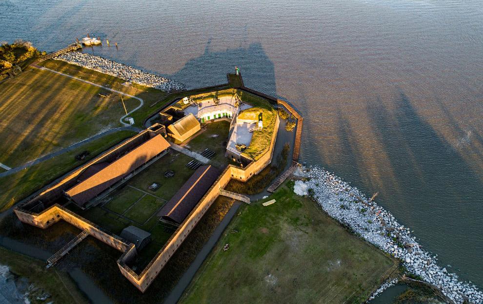 Форт Old Fort Jackson, Саванна, Джорджия