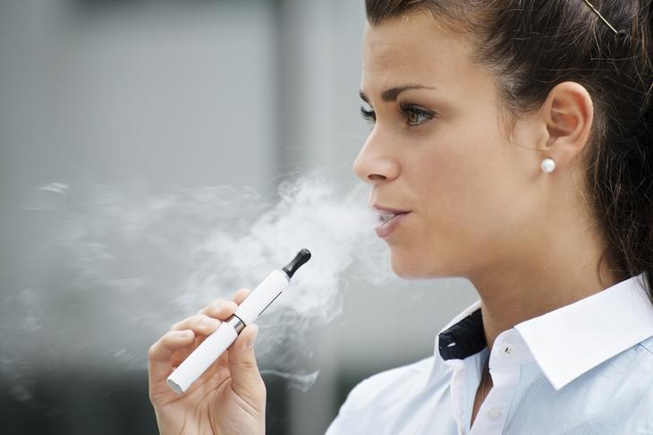 6. Курить электронные сигареты