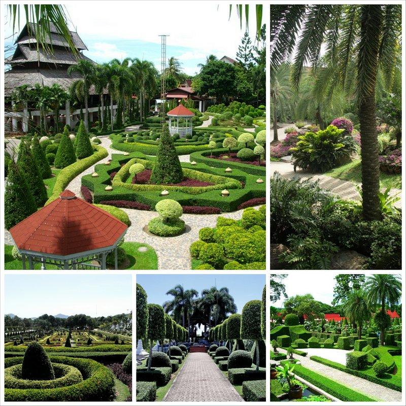 Тропический сад Нонг Нуч в Паттайе