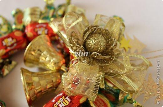 Мастер-класс Свит-дизайн Упаковка Новый год Разные сладкие работы Бумага Материал оберточный Проволока Продукты пищевые фото 27