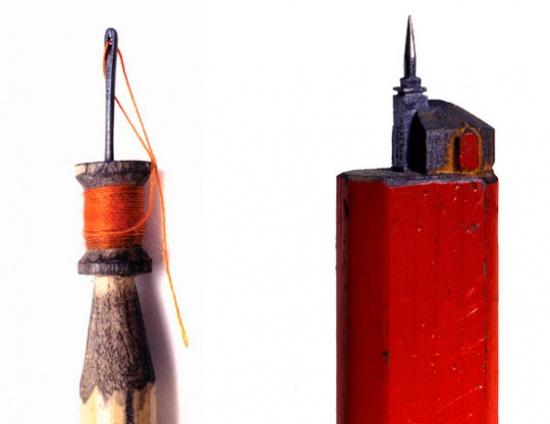 На острие карандаша.