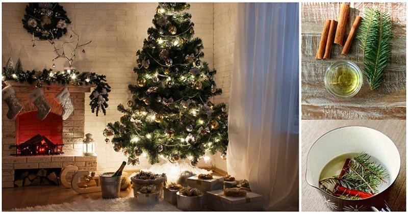 Уютные, приятные и очень теплые запахи Нового года и Рождества