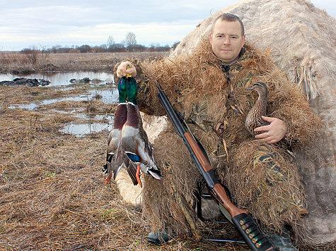 Охота с подсадной уткой - истинное наслаждение