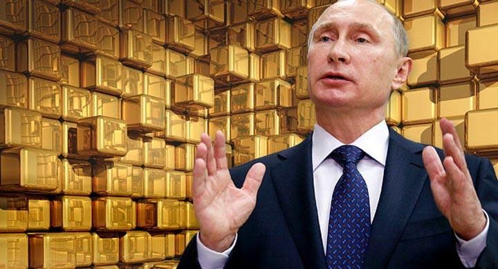 Путин и результат в золоте. 1 500 тонн