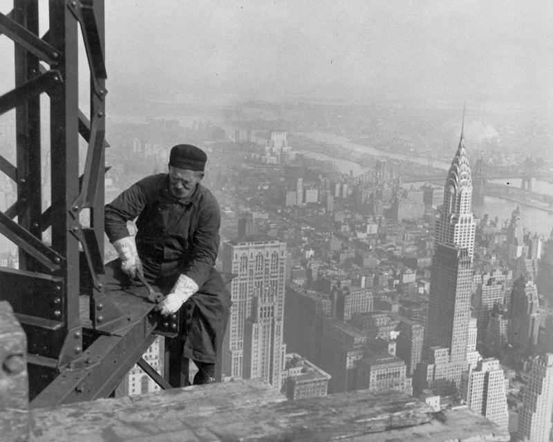 0185 Как строились небоскребы в Нью Йорке