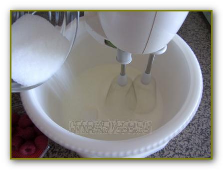 как приготовить взбитые сливки