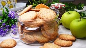 Печенье с кунжутом на скорую руку