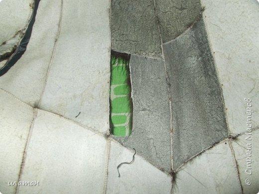 Гардероб Мастер-класс Шитьё Ремонт шубы из натурального меха Клей Мех Нитки Ткань фото 3