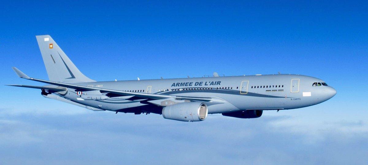 ВВС Франции получают первый самолет-заправщик Airbus A330 MRTT