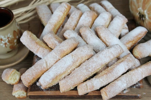 Печенье с творогом и кунжутом
