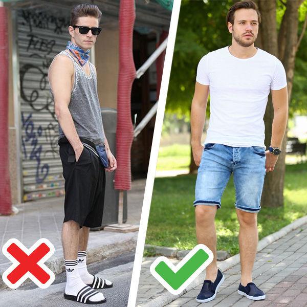 Десять деталей мужского гардероба, которые бесят всех женщин