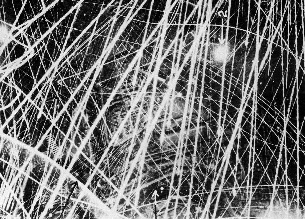 Это фото было сделано 31 января 1941 года во время ночного рейда британских ВВС